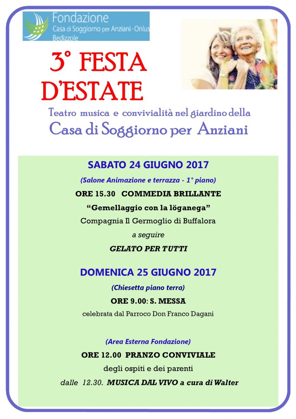 Casa per anziani a bedizzole brescia area eventi e news for Lista permesso di soggiorno brescia maggio 2017